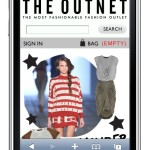 The Outnet Mobile Enabled Website | Source: The Outnet