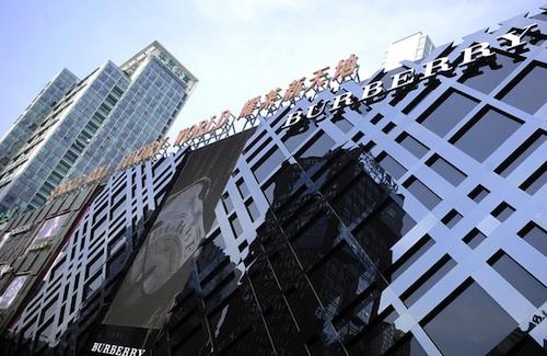 Burberry store Beijing   Source: Bloomberg