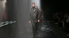 Top Man Lets the London Rains Pour Down