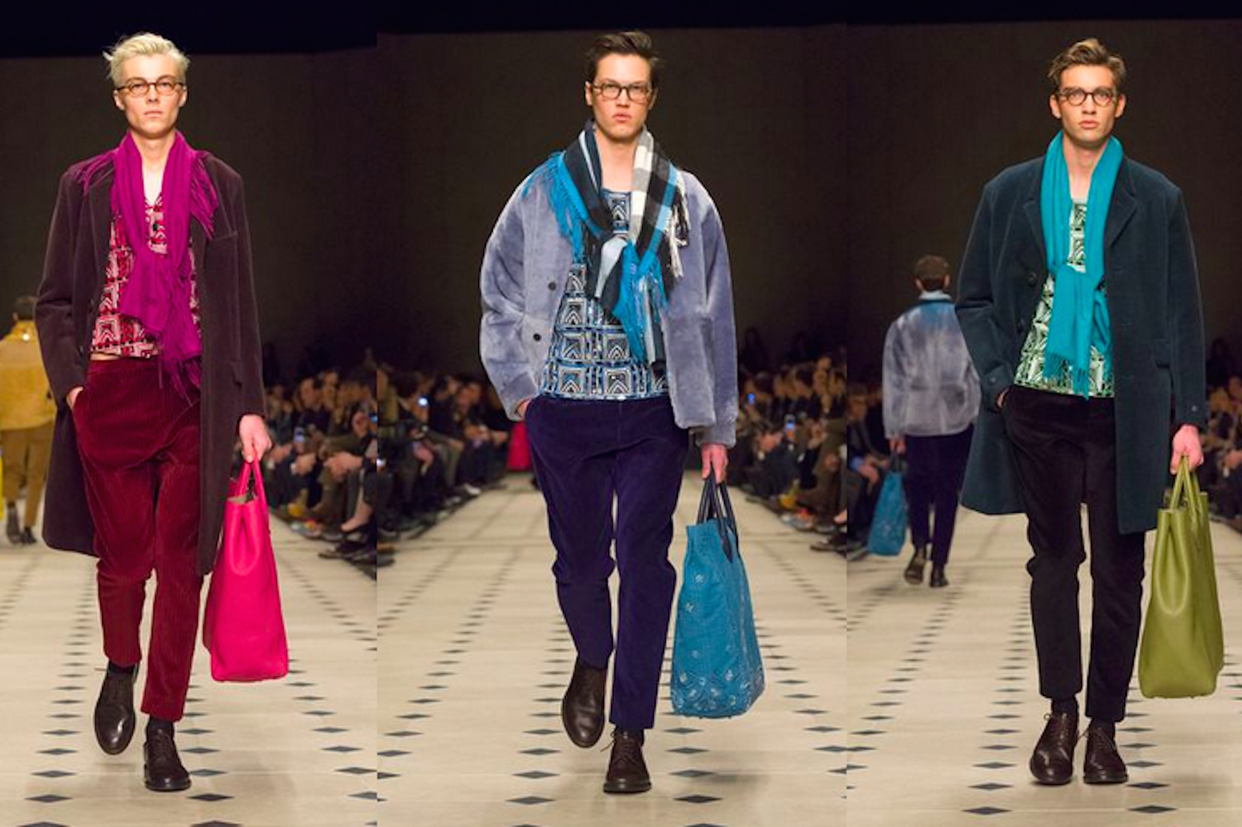 Burberry Fashion Show 2015 Men Burberry Autumn Winter