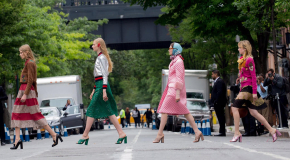 The Fashion Flock Descends on New York