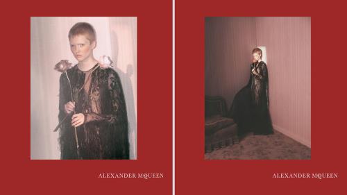Alexander McQueen Fall/Winter | Source: Alexander McQueen