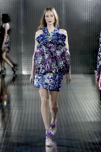 Mary katrantzou spring / summer collection – london fashion week