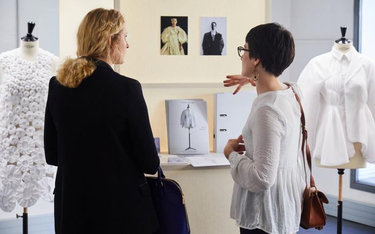 Graduate showroom 2017 cole de la chambre syndicale de - Chambre syndicale de la haute couture parisienne ...