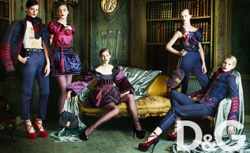 D&G Autumn/Winter 09 | Source: Dolce & Gabbana