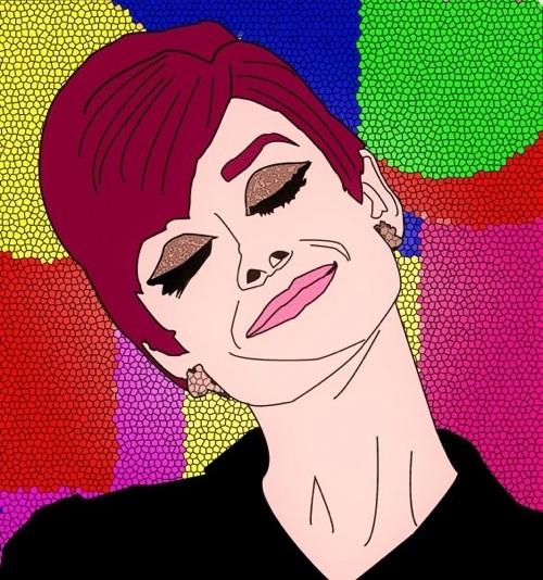 Audrey Hepburn by Marco Santaniello