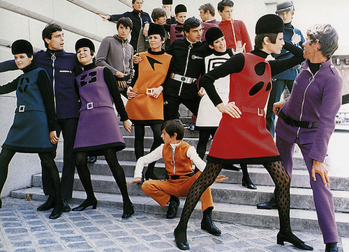 Pierre Cardin Cosmos Collection 1964 | Source: IHT