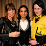 Beth Serota of Fashion East, Imran Amed and designer Holly Fulton