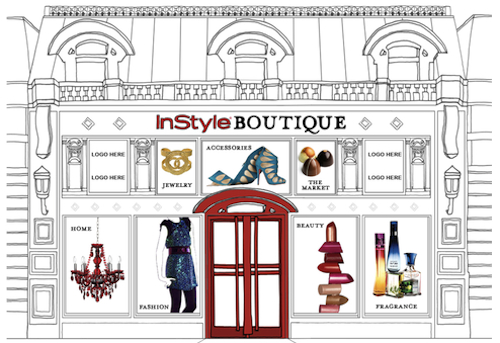 Interactive Shopping: In Style Boutique | Source: Mashable