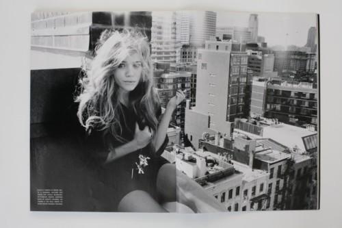Mary Kate Olsen, June 2007   Source: Vogue Italia