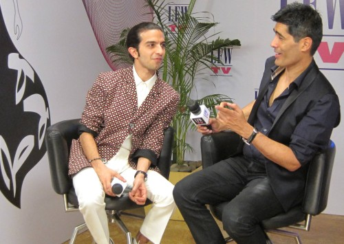 Imran Amed and Manish Malhotra | Photo: BoF