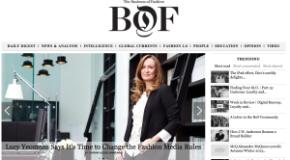 The Business of Fashion Website Raises £1.3m