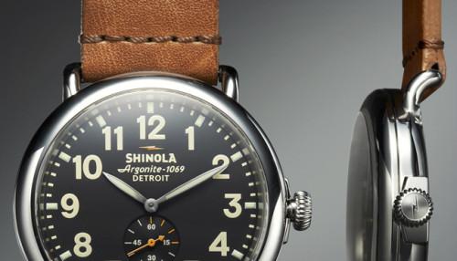 Shinola Runwell Watch | Source: Shinola