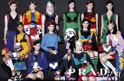 Prada Spring/Summer 2014 campaign