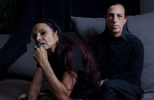Rick Owens and Michèle Lamy | Photo: Matthew Stone for BoF