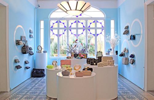 The Sarah's Bag showroom in Achrafiyeh, Beirut