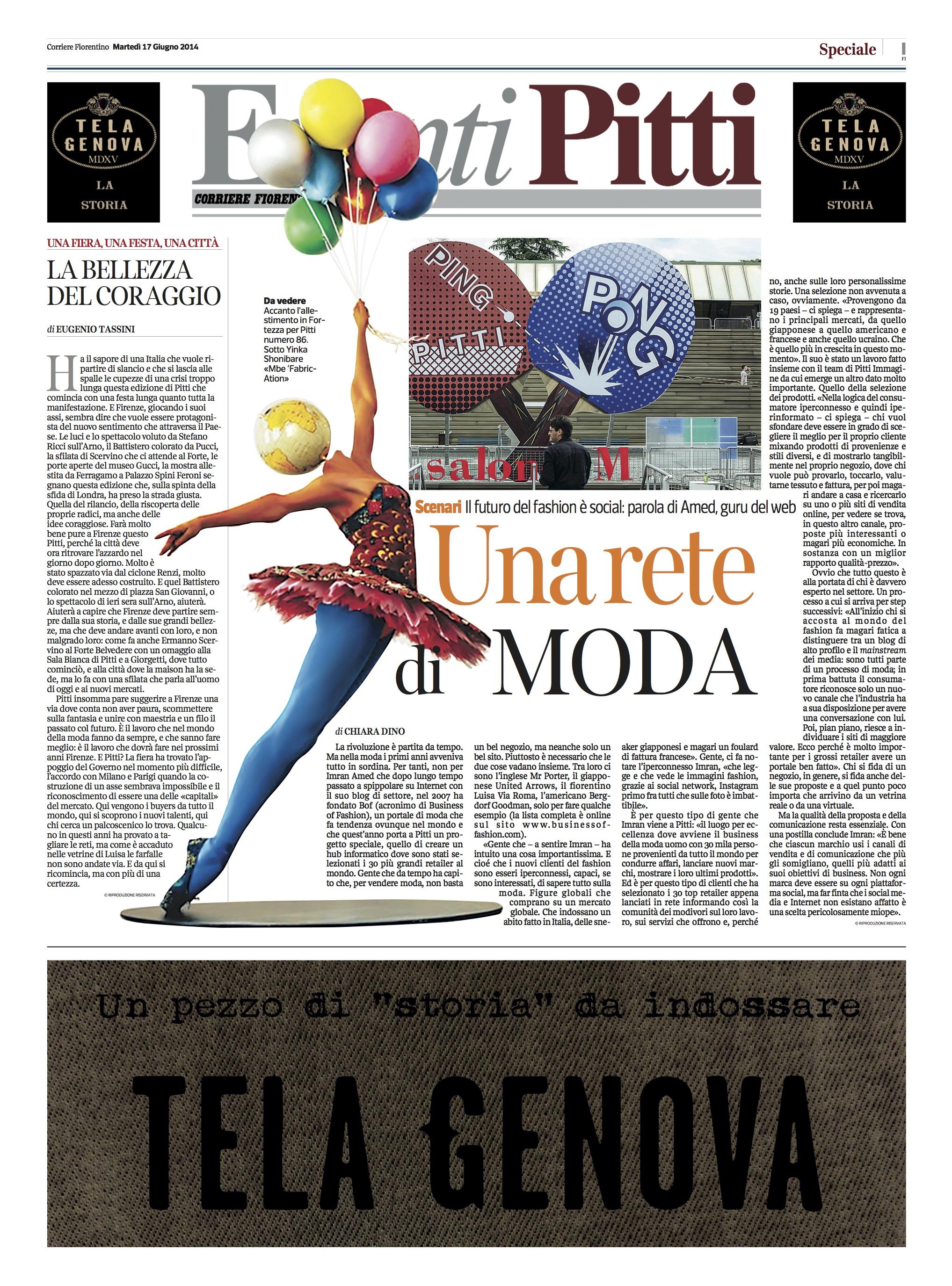 Corriere Della Sera (Italy) | June 2014