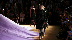 A Prada Show Worth Waiting For, Purple Sand and All